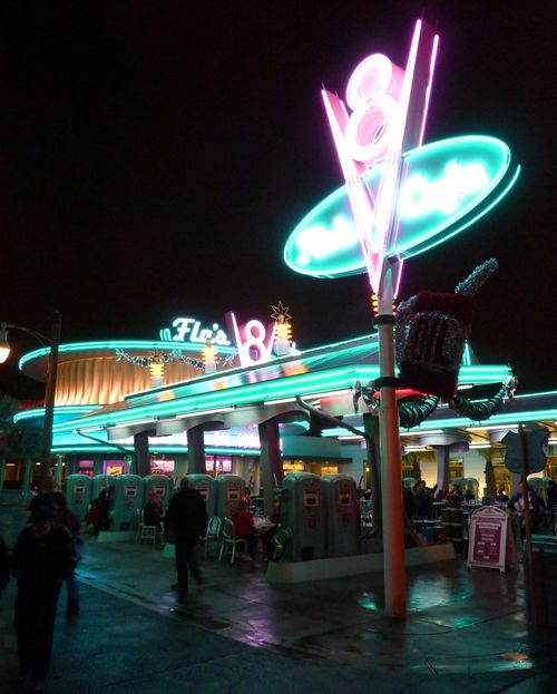 Cars Land Disney California Adventure 92