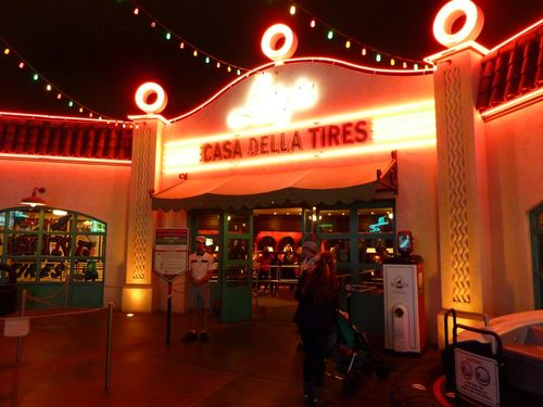 Cars Land Disney California Adventure 93