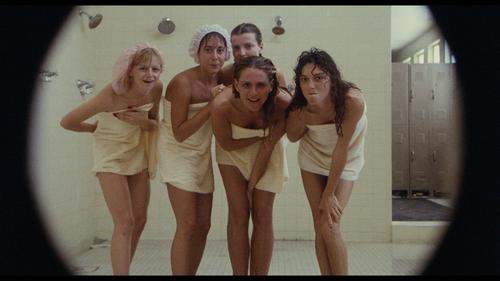 Female Comedy Naked Gym Locker Room