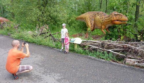 Minnesota Zoo Dinosaurs 7
