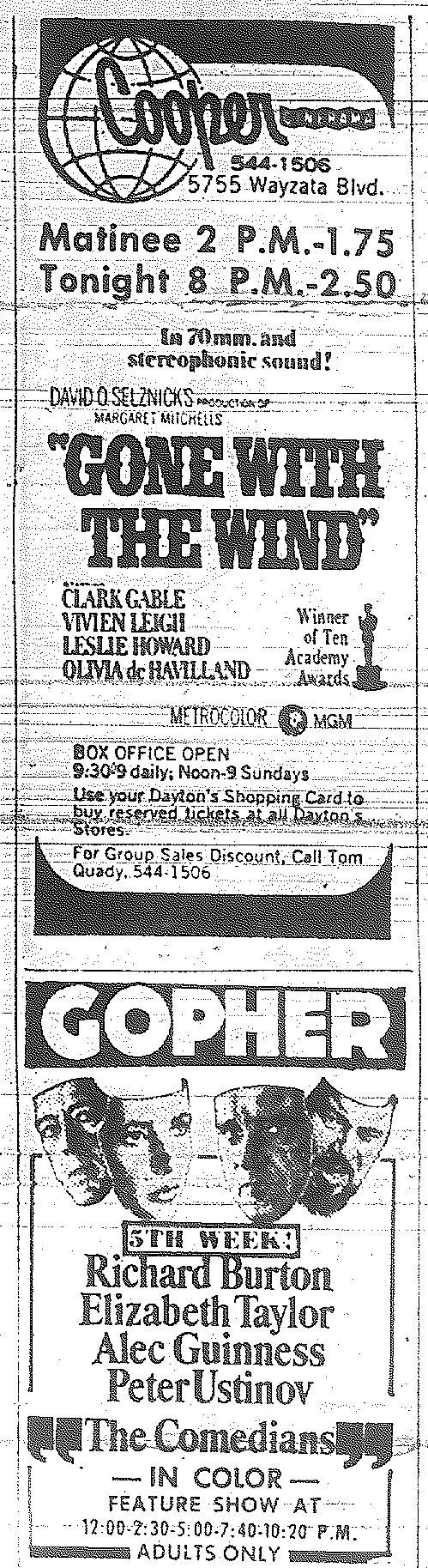 Minnesota Movie Ad 1967 4