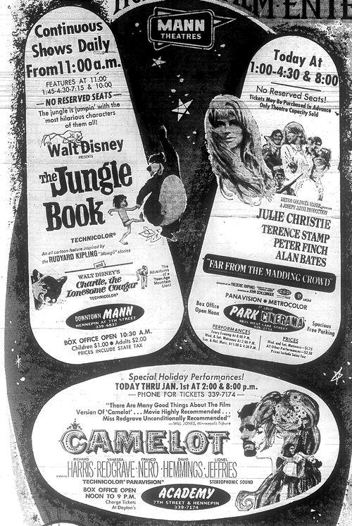 Minnesota Movie Ad 1967 6