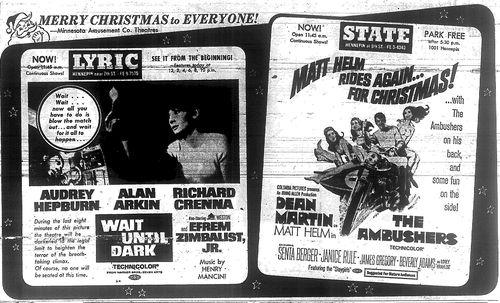 Minnesota Movie Ad 1967 8