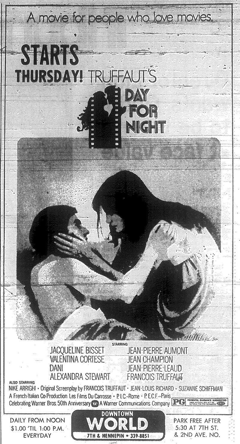 Minnesota Movie Ads 1973 1