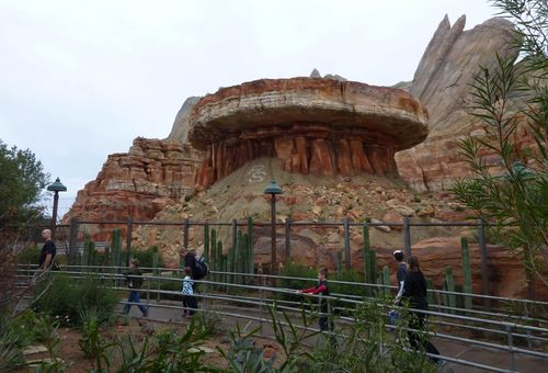 Cars Land Disney California Adventure 34