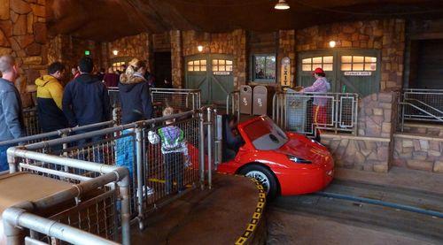 Cars Land Disney California Adventure 9