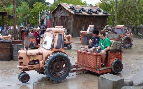 Cars Land Disney California Adventure 26
