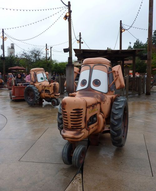 Cars Land Disney California Adventure 29