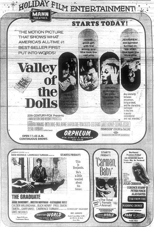 Minnesota Movie Ad 1967 3
