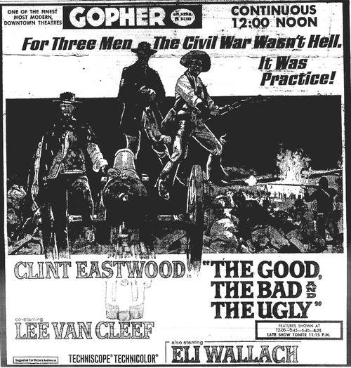 Minnesota Movie Ad 1967 10