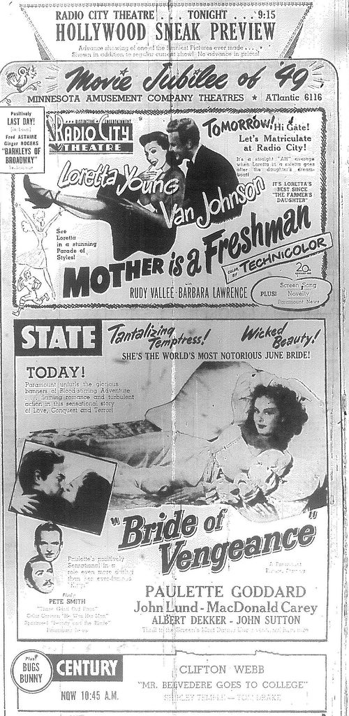 Minnesota Move Ads 1949 1