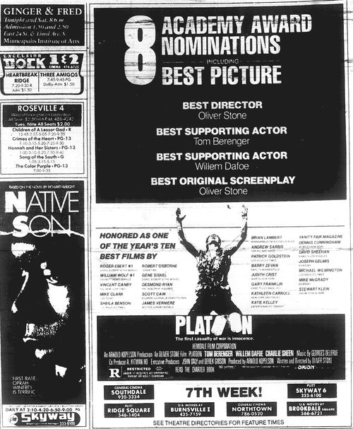 Minnesota Movie Ads 1987 8