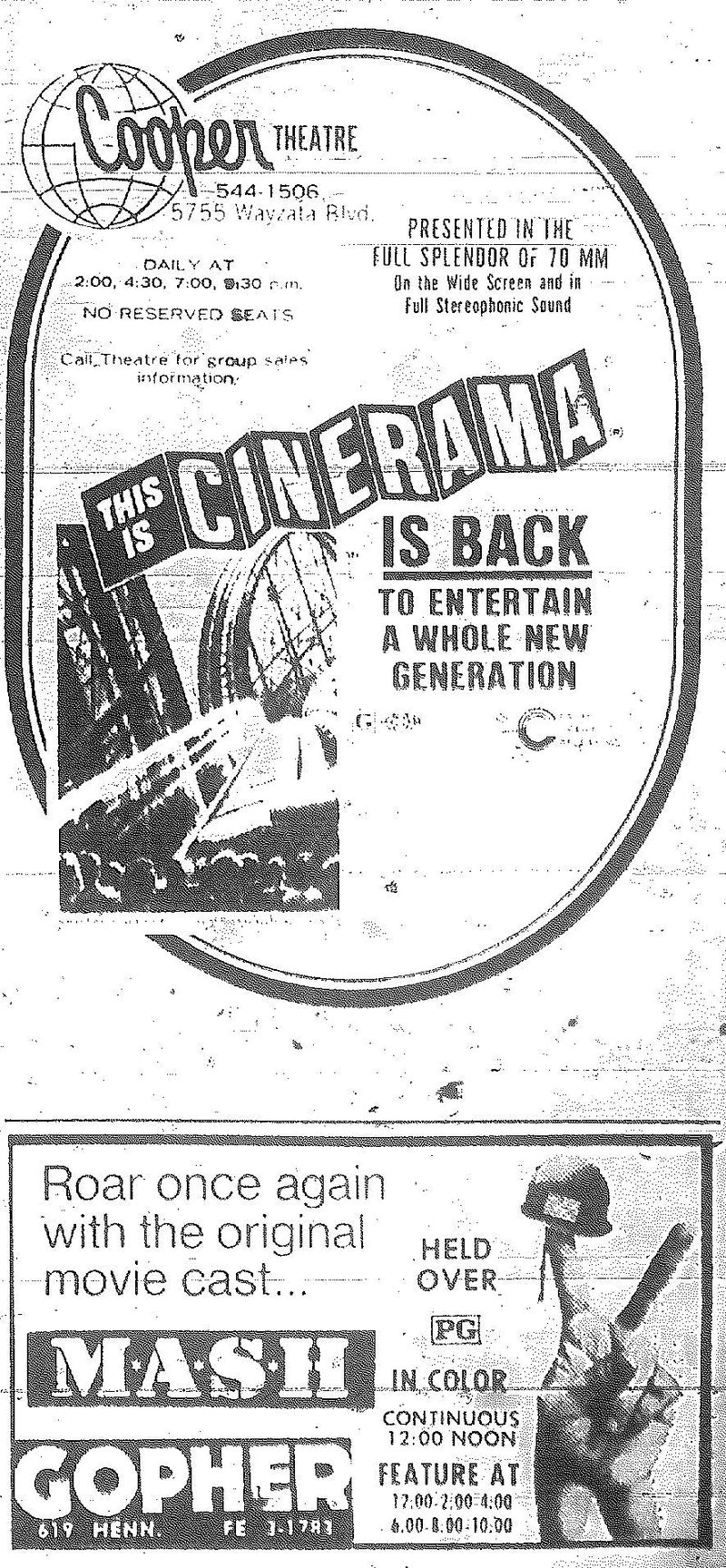 Minnesota Movie Ads 1973 3