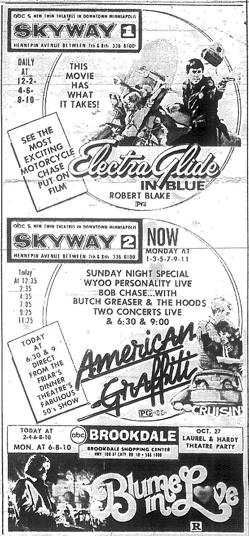 Minnesota Movie Ads 1973 4