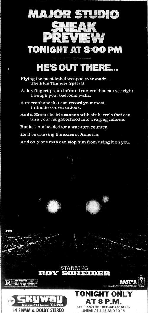 Minnesota Movie Ads 1983 4