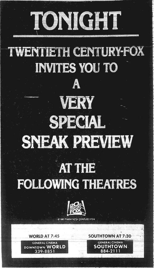 Minnesota Movie Ads 1983 11