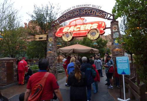 Cars Land Disney California Adventure 2