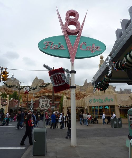 Cars Land Disney California Adventure 65