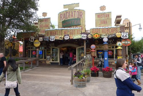 Cars Land Disney California Adventure 66