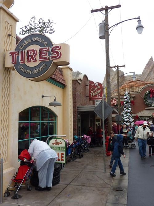 Cars Land Disney California Adventure 83