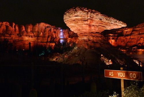 Cars Land Disney California Adventure 96