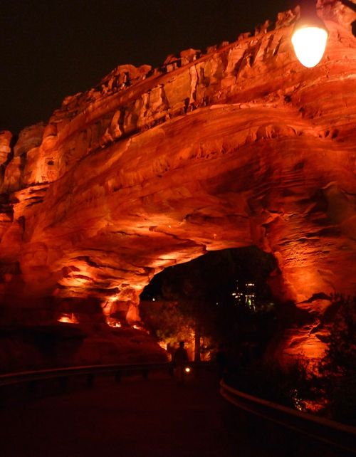 Cars Land Disney California Adventure 97