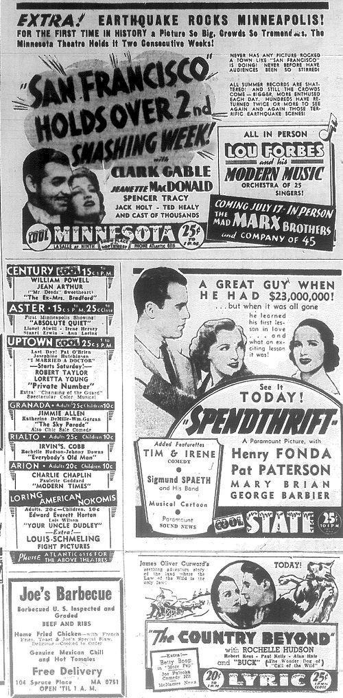 Minnesota Movie Ads 6