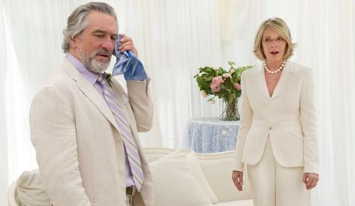 BIG WEDDING De Niro Keaton