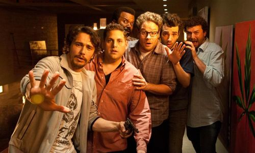 THIS IS THE END James Franco Seth Rogan Jonah Hill