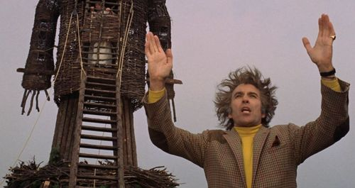 WICKER MAN Christopher Lee Edward Woodward