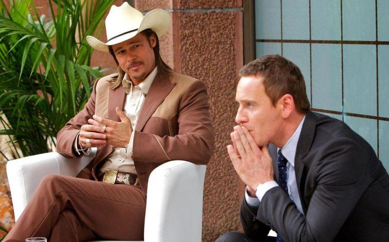COUNSELOR Brad Pitt Michael Fassbender