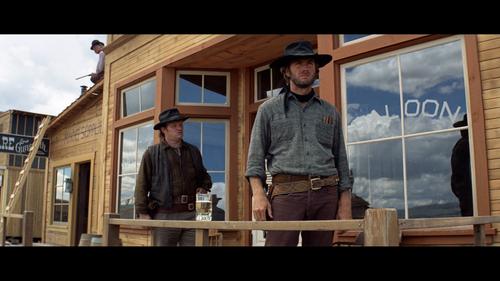 HIGH PLAINS DRIFTER Clint Eastwood