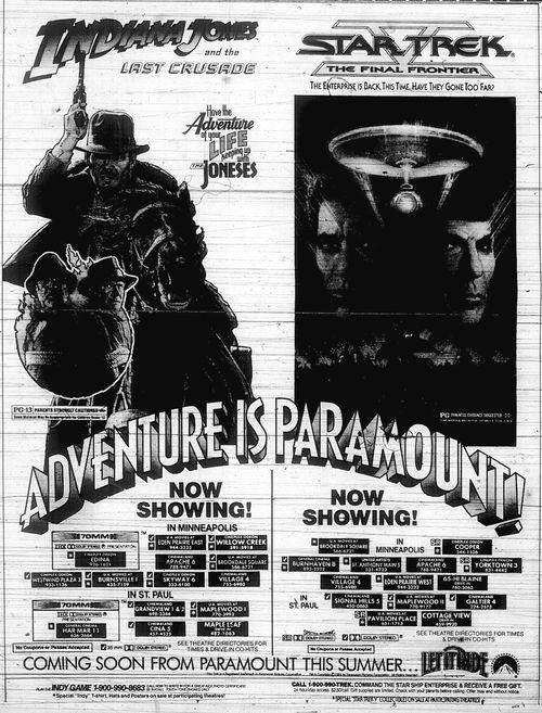 Minnesota Movie Ads 1