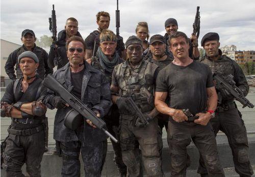 EXPENDABLES 3 Stallone Schwarzenegger