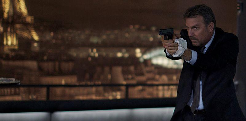 3 DAYS TO KILL Kevin Costner