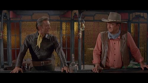 WAR WAGON Kirk Douglas John Wayne