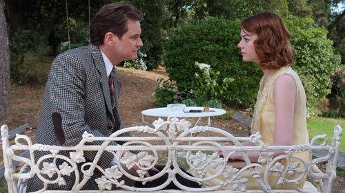 MAGIC IN THE MOONLIGHT Colin Firth Emma Stone