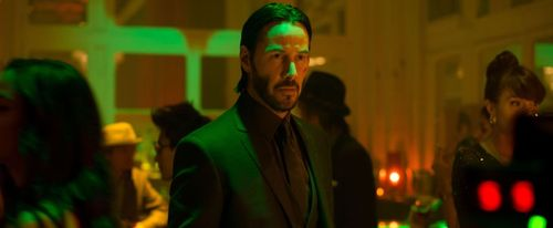 Keanu reeves in john wick ap