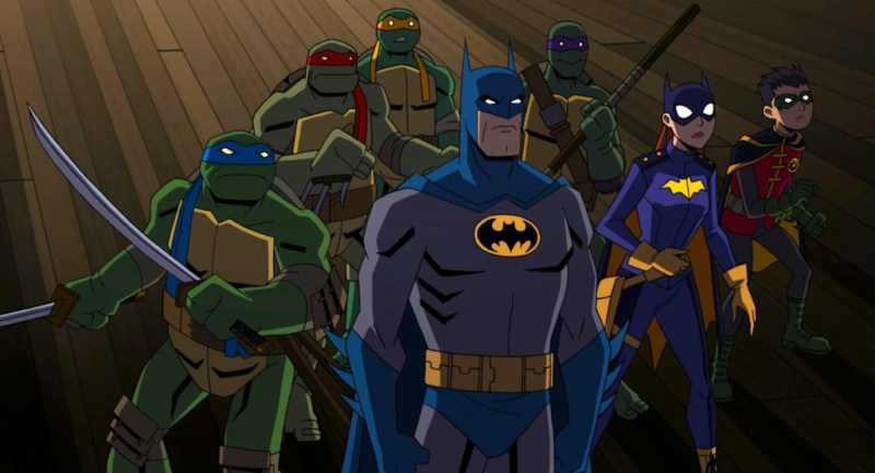 BATMAN VS TEENAGE MUTANT NINJA TURTLES 1