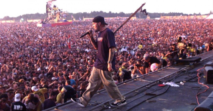 WOODSTOCK 99 PEACE LOVE AND RAGE 1